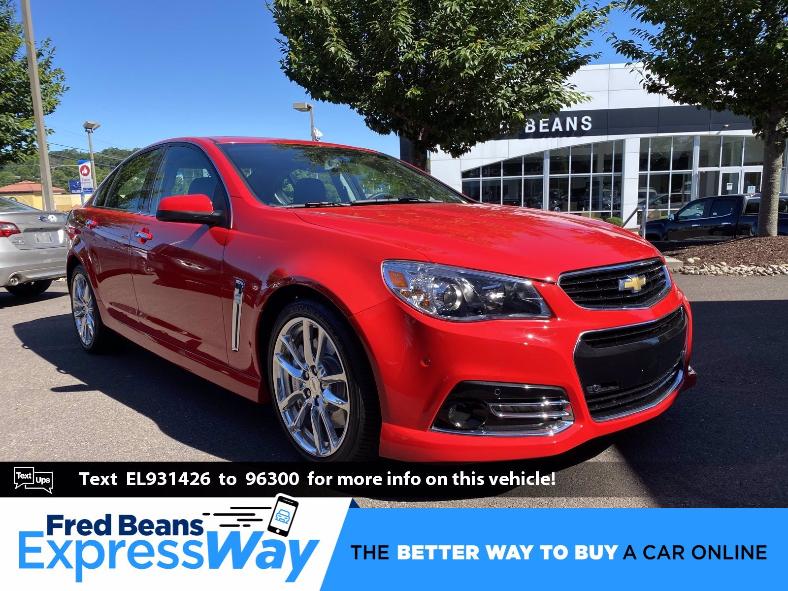 pre owned 2014 chevrolet ss v8 rwd 4dr car fred beans toyota of flemington
