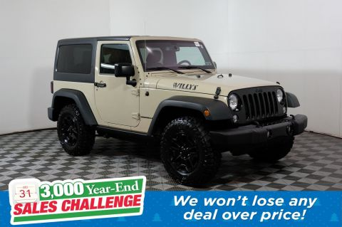 Pre-Owned 2016 Jeep Wrangler Willys Wheeler 4WD Convertible