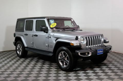 2019 Jeep Wrangler Unlimited Sahara Leather