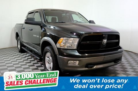 Pre-Owned 2011 Ram 1500 Outdoorsman 4WD Crew Cab Pickup
