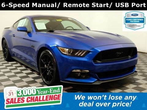 2017 Ford Mustang GT Coupe RWD V8 *Ford Certified*
