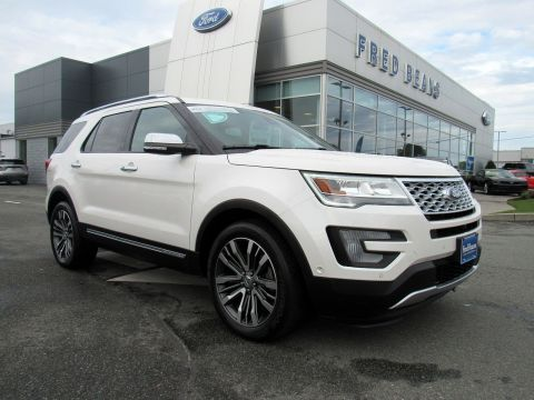 Pre-Owned 2017 Ford Explorer Platinum 4WD Sport Utility