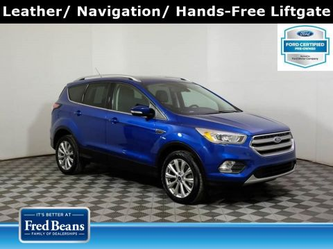 2017 Ford Escape Titanium 2.0L EcoBoost 4WD I4 *Ford Certified*