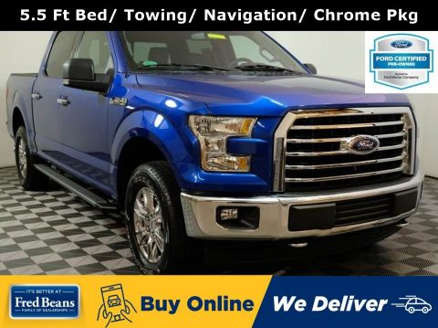 2017 Ford F-150 XLT Supercrew 4X4 V8 *Ford Certified*
