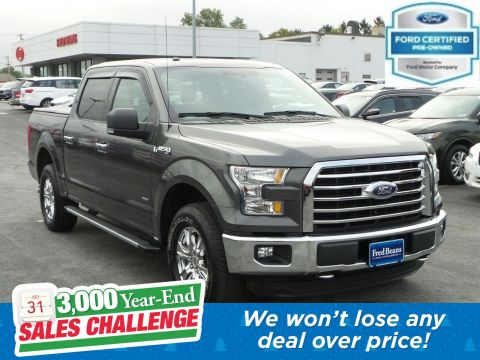 Pre-Owned 2016 Ford F-150 XLT 4WD Crew Cab Pickup