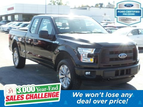 Pre-Owned 2016 Ford F-150 XL 4WD Extended Cab Pickup