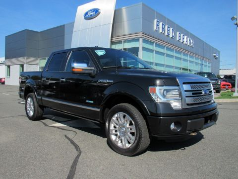 Pre-Owned 2013 Ford F-150 Platinum 4WD Crew Cab Pickup