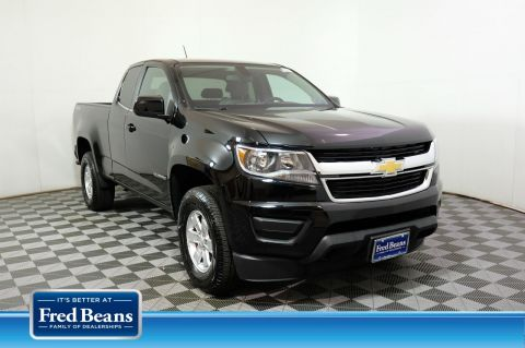 Pre-Owned 2018 Chevrolet Colorado 4WD Work Truck 4WD Extended Cab Pickup