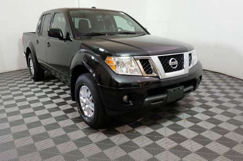 Pre-Owned 2016 Nissan Frontier SV 4WD Crew Cab Pickup