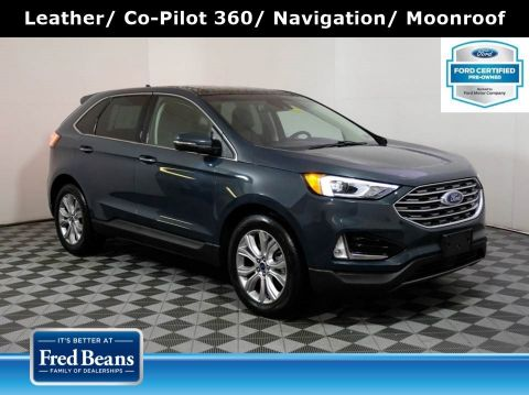 2019 Ford Edge Titanium 2.0L EcoBoost AWD I4 *Ford Certified*