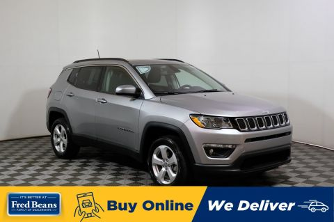 2019 Jeep Compass Latitude Pano-Roof
