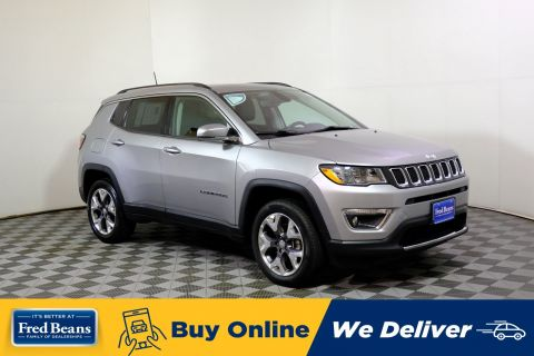 2019 Jeep Compass Limited Pano-Roof