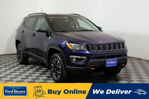 2019 Jeep Compass Trailhawk Pano-Roof