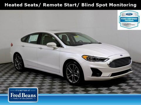 Pre-Owned 2019 Ford Fusion SEL 1.5L EcoBoost FWD I4 *Ford Certified* FWD 4dr Car
