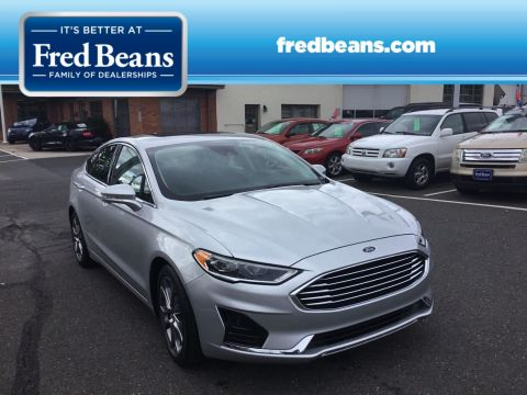 Pre-Owned 2019 Ford Fusion SEL FWD 4dr Car
