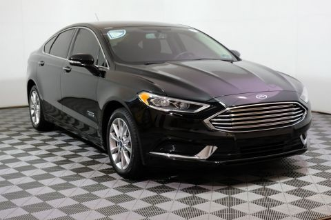 Pre-Owned 2018 Ford Fusion Energi SE FWD 4dr Car