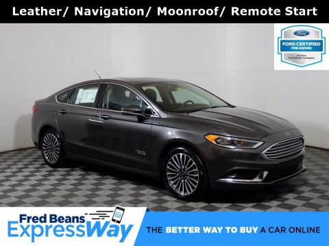 2018 Ford Fusion Energi SE FWD I4 *Ford Certified*
