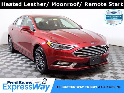 2017 Ford Fusion SE Luxury 2.0L EcoBoost AWD I4 *Ford Certified*