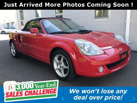 Pre-Owned 2005 Toyota MR2 Spyder SEQ RWD Convertible