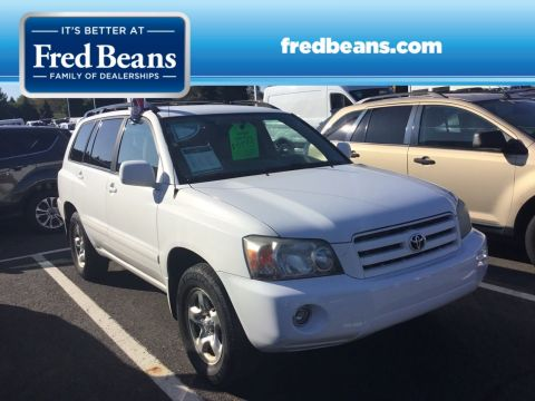 Pre-Owned 2007 Toyota Highlander FWD Sport Utility