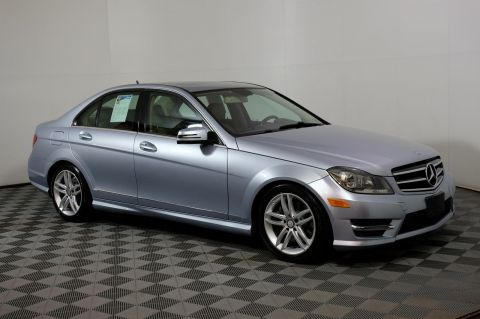 Pre-Owned 2014 Mercedes-Benz C-Class AWD 4MATIC 4dr Car